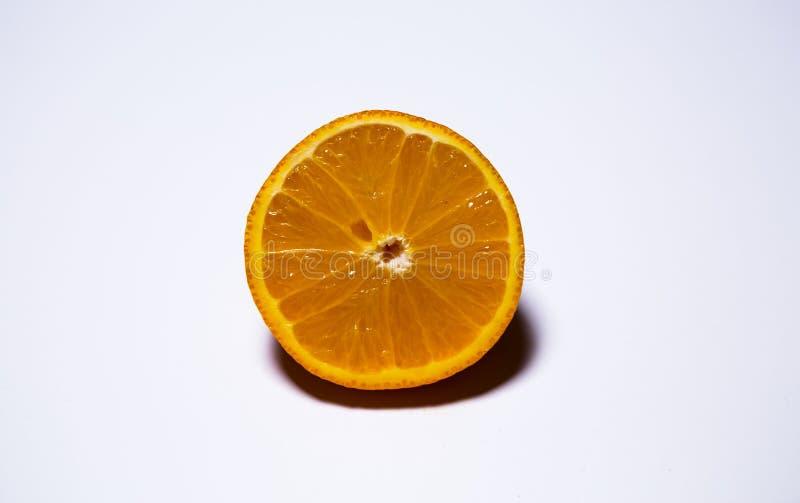 一个桔子 图库摄影
