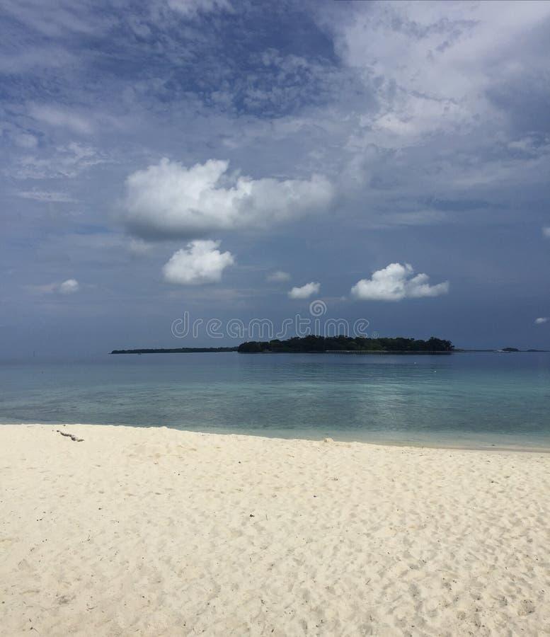 一个海岛 免版税库存图片