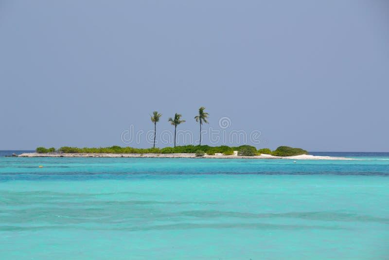 一个海岛 图库摄影