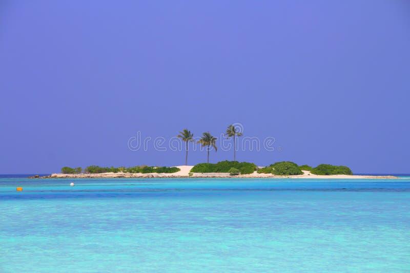 一个海岛 库存图片