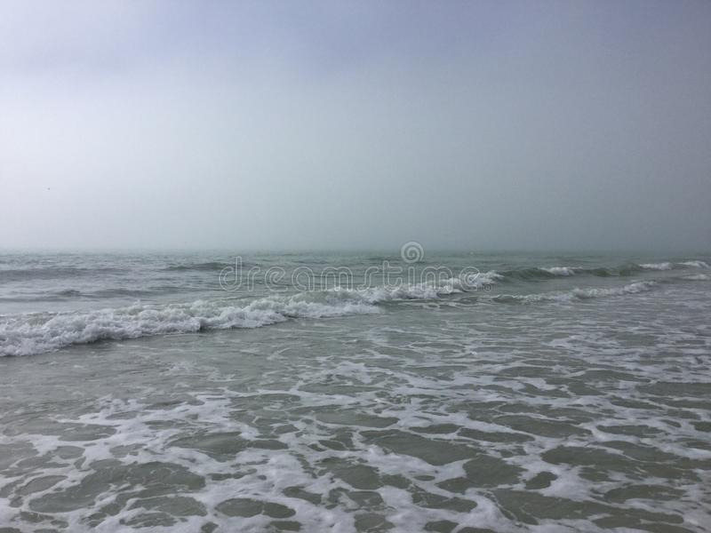 一个海滩在坦帕,佛罗里达 库存图片