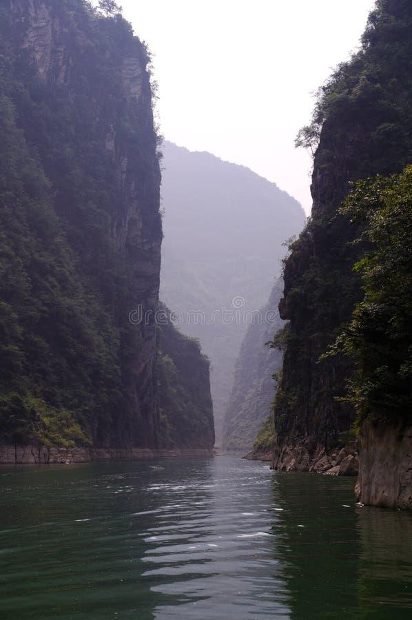 一个深峡谷 库存照片