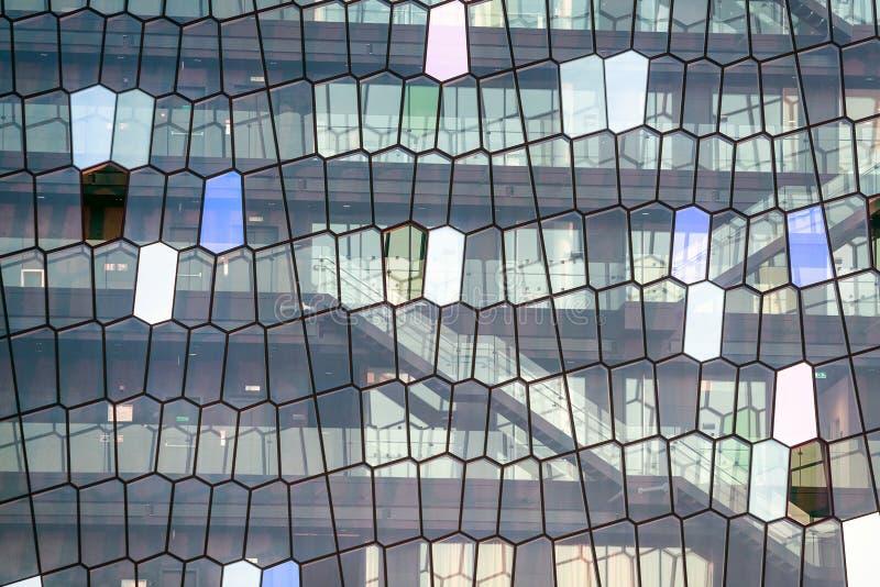 一个现代大厦的抽象图片 免版税库存图片