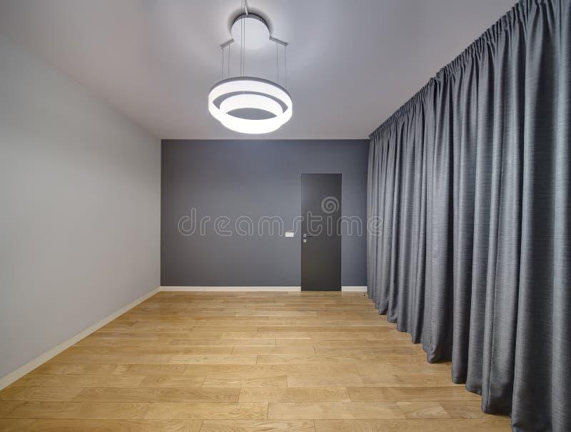 一个现代样式的空的室 免版税库存照片
