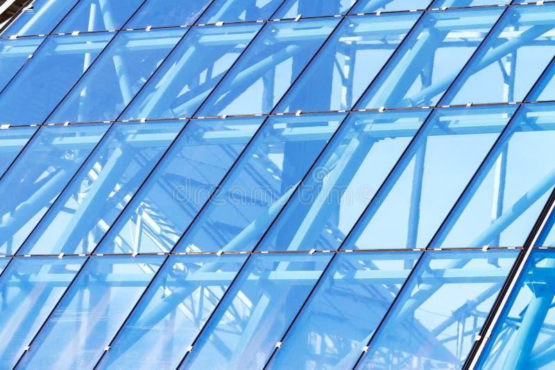 玻璃透亮屋顶 免版税库存图片