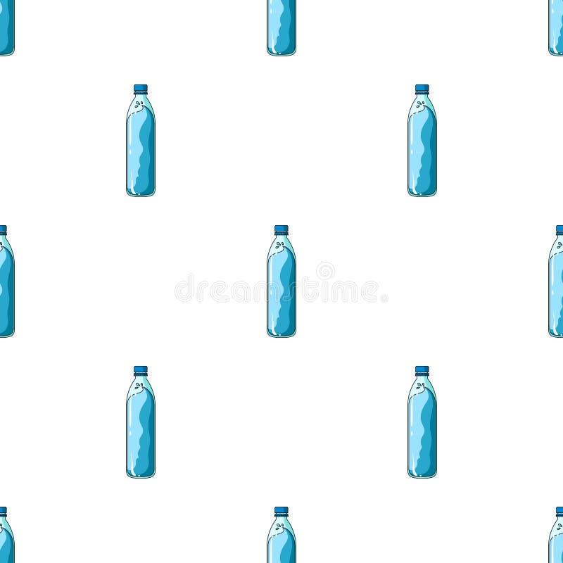 一个瓶水 库存例证
