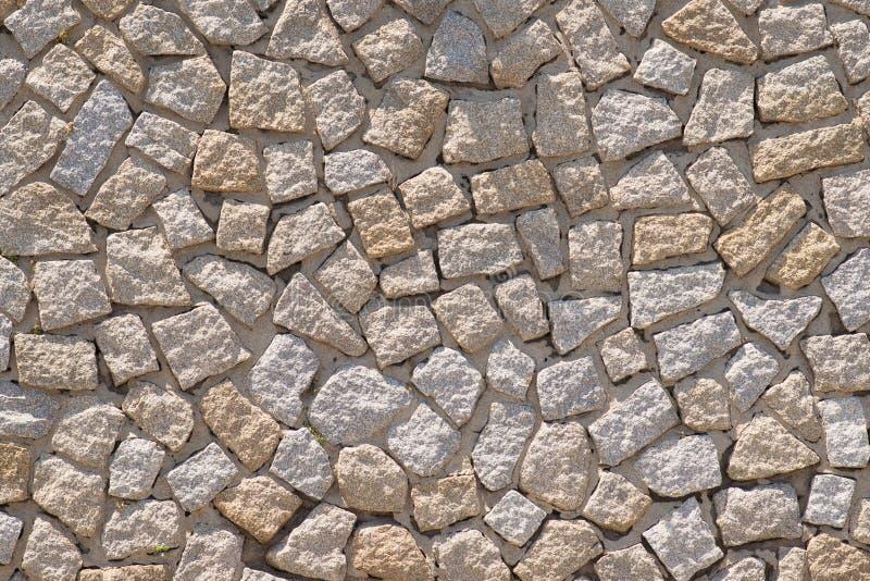 一个石墙的纹理 老城堡石墙背景 库存图片