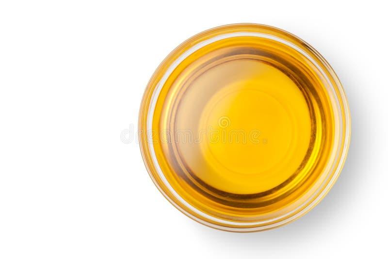 一个碗花生油 免版税库存图片