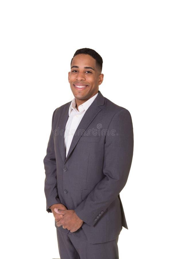 一个穿着体面的人的画象衣服的 免版税库存图片