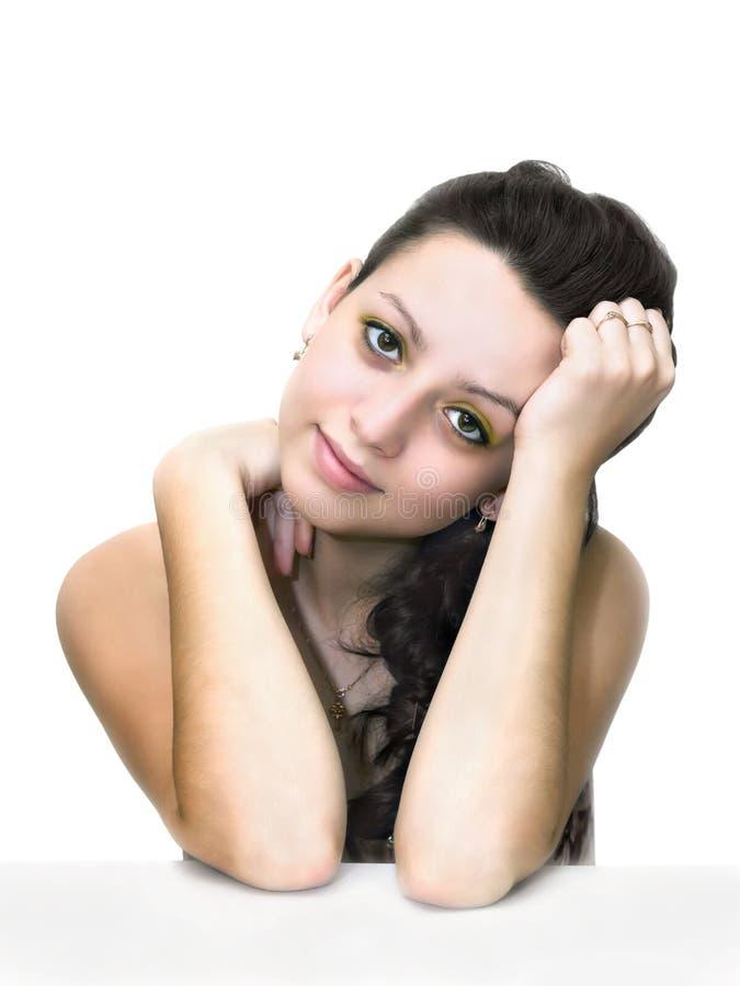 Download 一个美丽的女孩的画象 库存图片. 图片 包括有 查出, 在旁边, 有吸引力的, 敬慕, beauvoir - 30331127