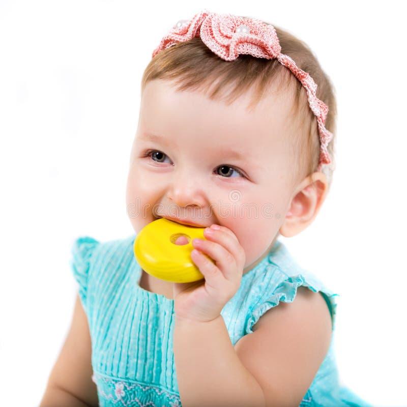 一个美丽的小女孩的画象 儿童特写镜头的照片图片