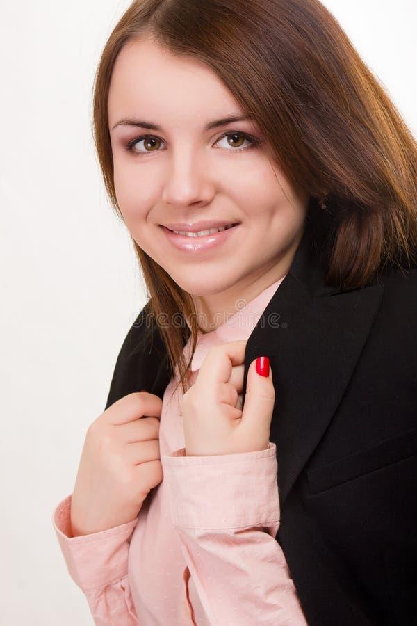 一个美丽的少妇的画象 免版税图库摄影