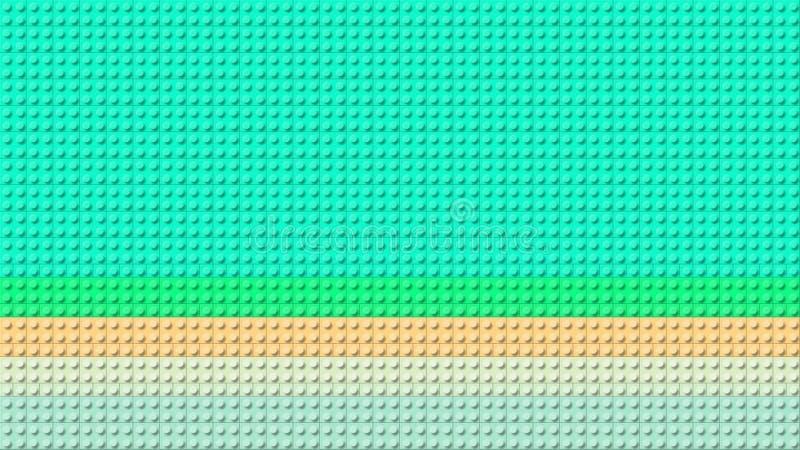 一个美好的五颜六色的乐高背景板 免版税图库摄影