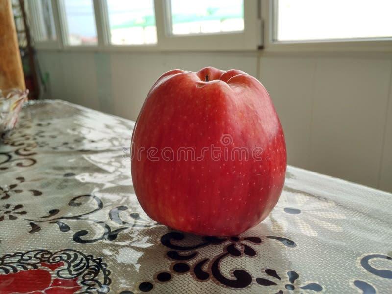 一个苹果 库存照片
