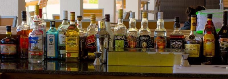 一个被库存的酒吧在加勒比 库存图片