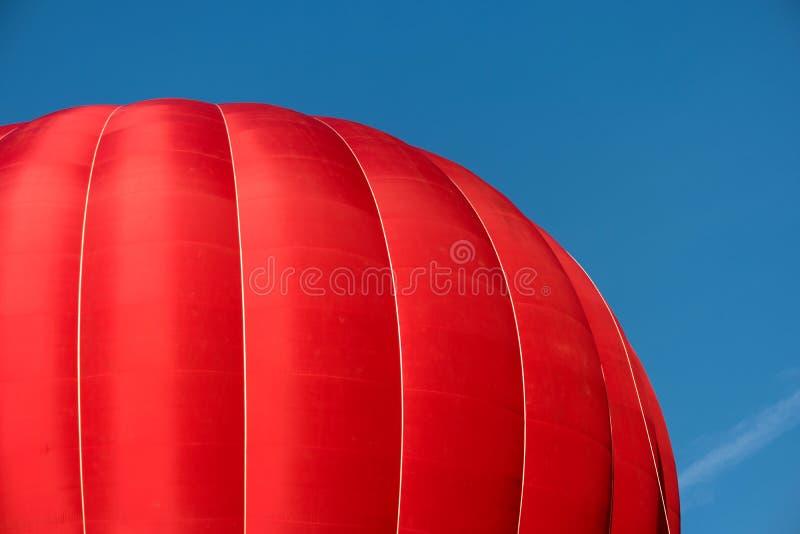 一个起动的炽热气球 图库摄影
