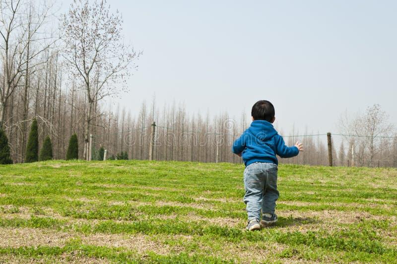 一个连续男孩 免版税图库摄影