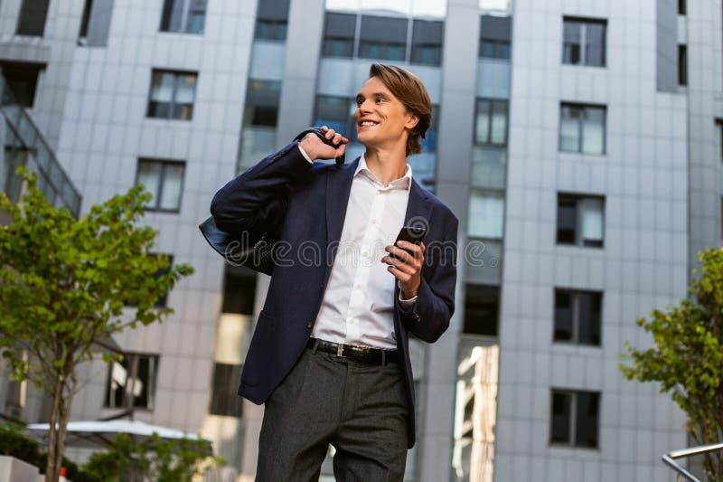一个都市人 免版税库存图片