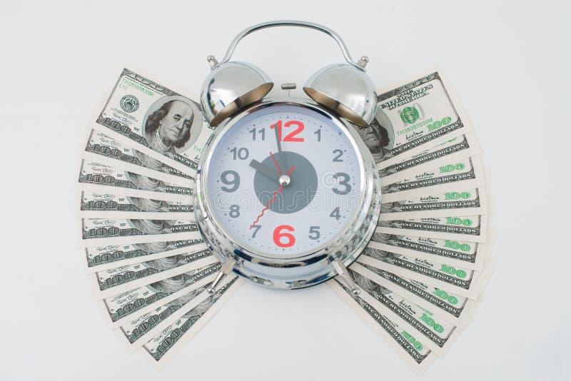 时间是金钱 免版税库存图片
