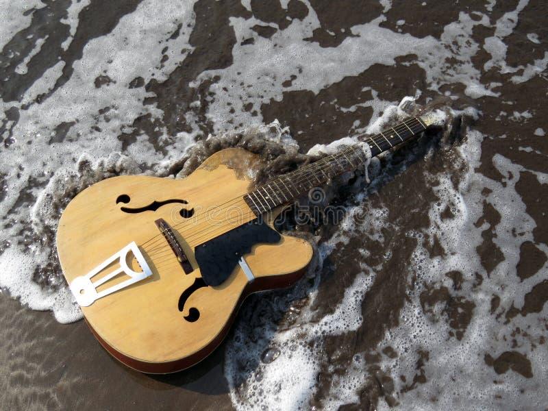 一个音乐时代的结尾 免版税库存照片