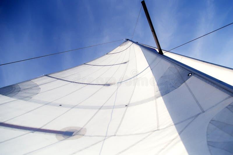 一个风帆 图库摄影