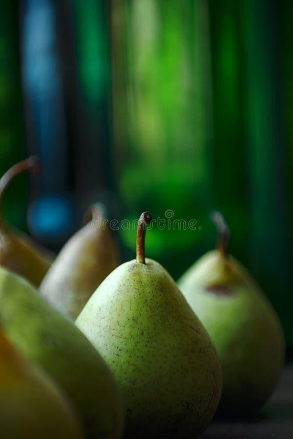 一些个梨在阳光下 图库摄影