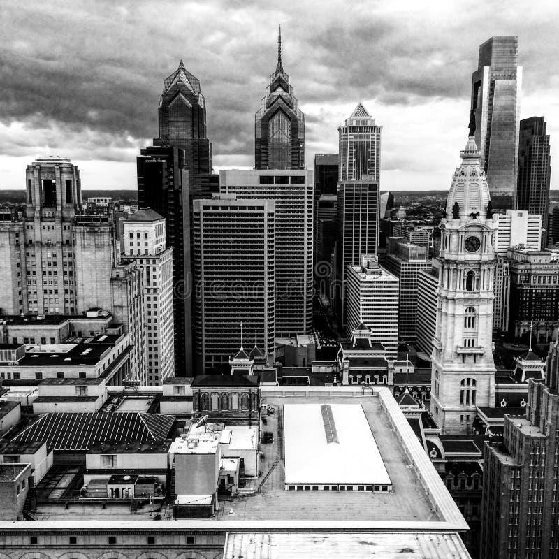一些大厦 免版税库存图片