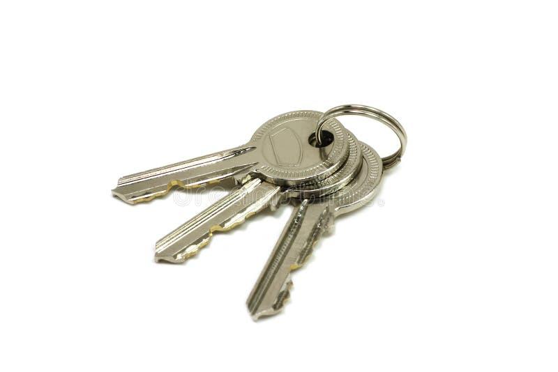 一些精采钥匙 库存照片