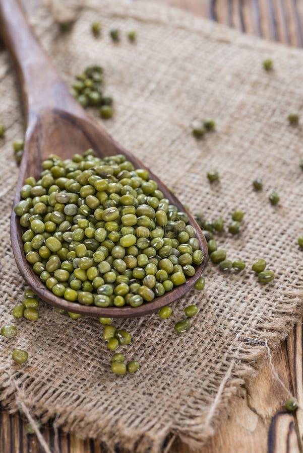 一些绿豆 免版税库存图片
