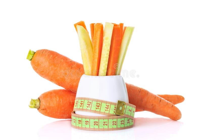 一健康吃的概念 免版税库存照片