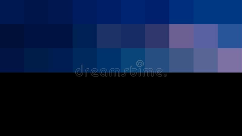 一半蓝色一半黑lixel摆正多用途传单的横幅设计典雅的图象 库存例证