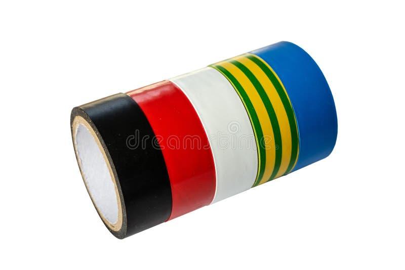 一卷多彩多姿的磁带的劳斯 免版税库存照片