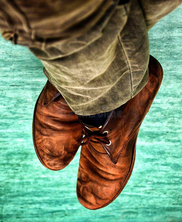 一双鞋 免版税图库摄影