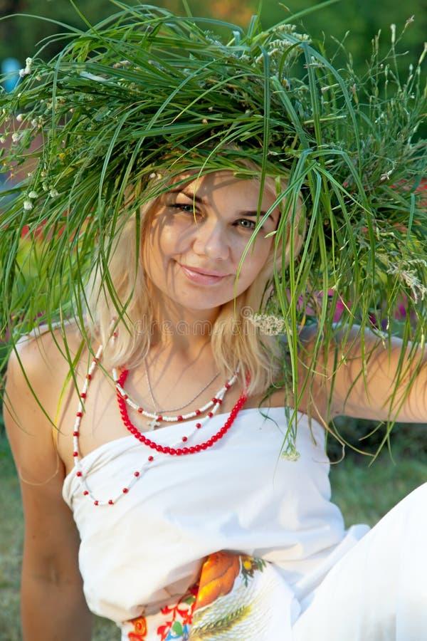 一名美丽的妇女 图库摄影