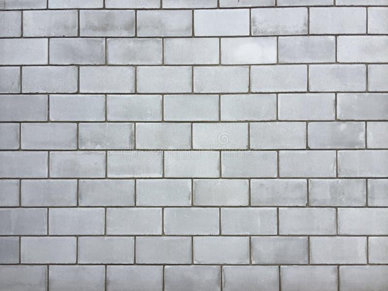 一块大砖的墙壁 免版税库存照片