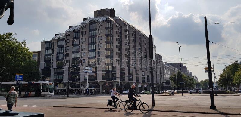 一天在阿姆斯特丹 免版税库存图片