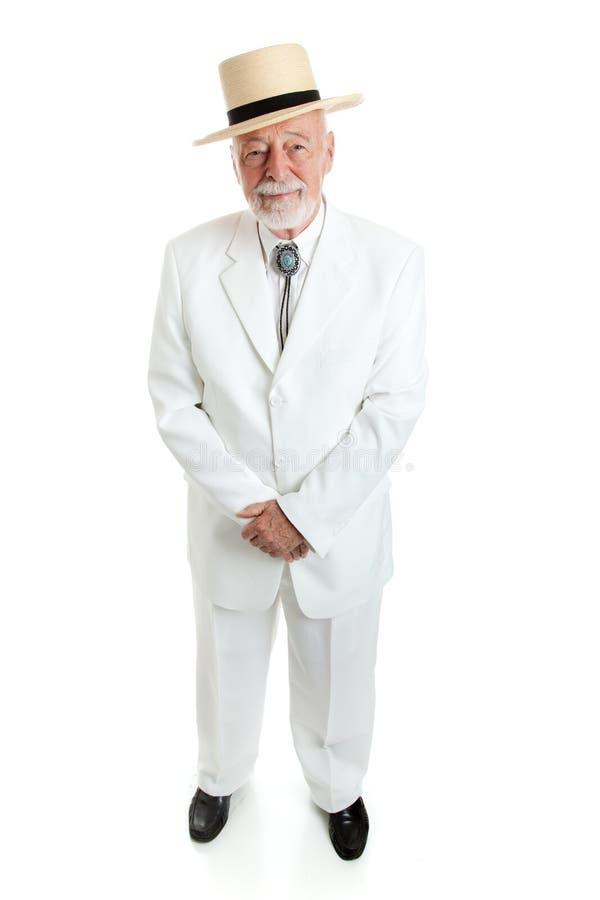 英俊的南部的绅士 免版税库存图片