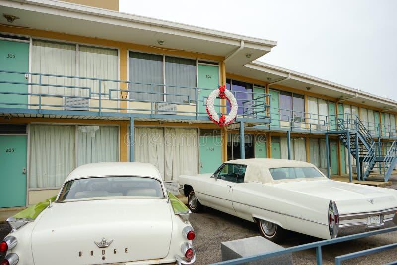 一家汽车旅馆 图库摄影