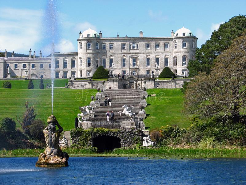 一座城堡在爱尔兰 免版税库存照片