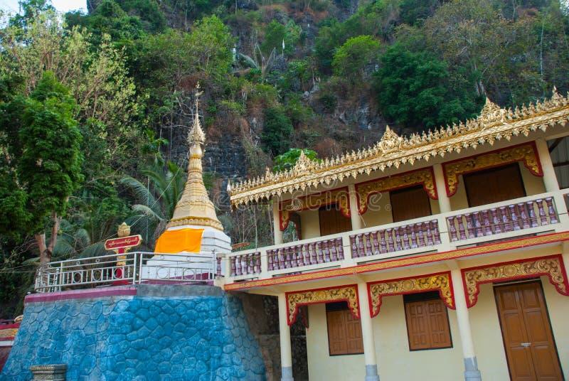 Download 一座小的塔 Hpa-An,缅甸 缅甸 库存图片. 图片 包括有 雕刻, 模式, 镇痛药, 背包, 聚会所 - 72358591