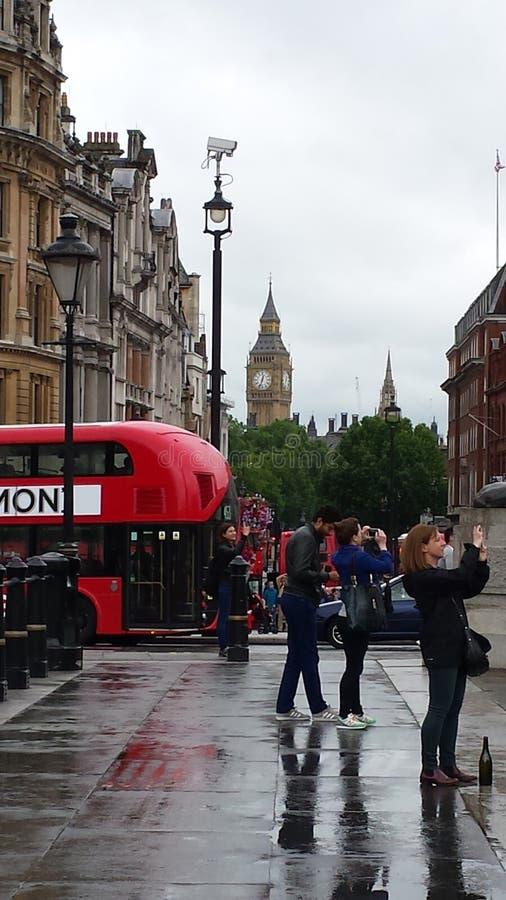 一张照片的伦敦 免版税库存照片
