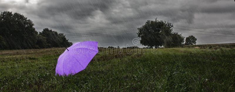 一把伞 免版税图库摄影