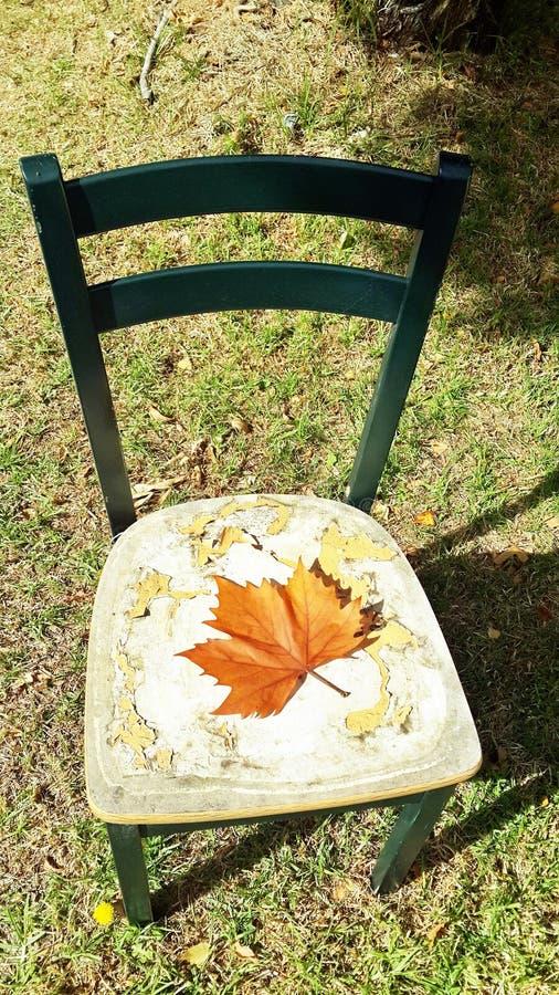 一把凳子 免版税库存照片