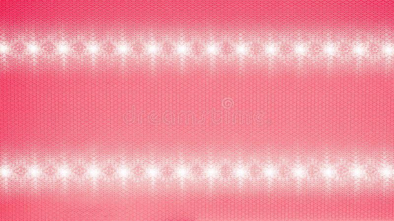 一支发光二极管的反射器隐藏了入天花板 免版税库存图片