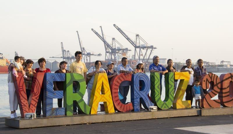 一旅行天在韦拉克鲁斯 免版税图库摄影