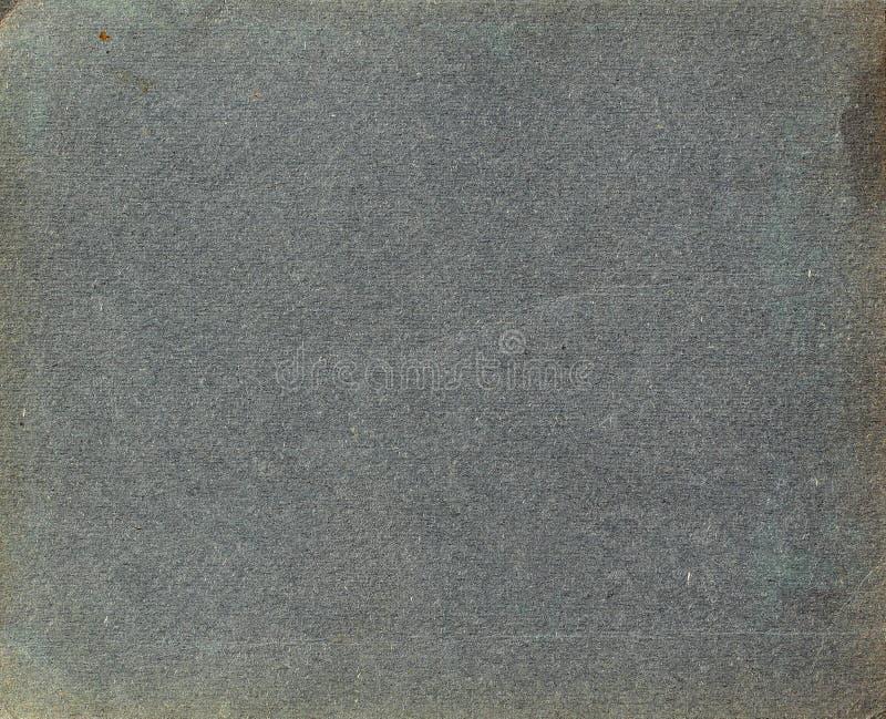从一本老葡萄酒象册的页 库存图片