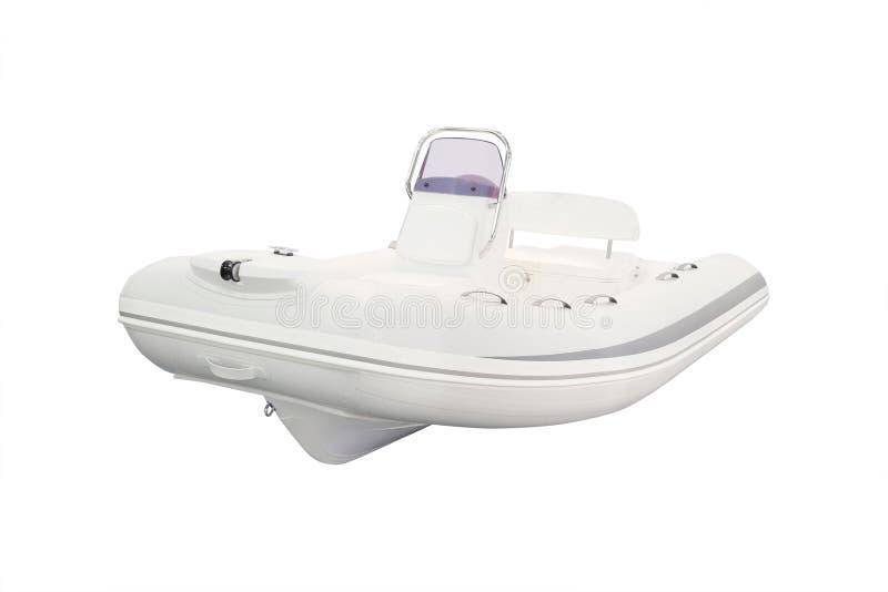 一条可膨胀的小船 免版税图库摄影