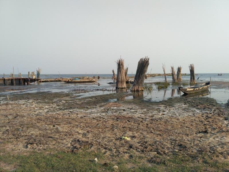 一条河 免版税库存照片
