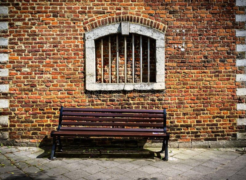 一条长凳 免版税库存照片