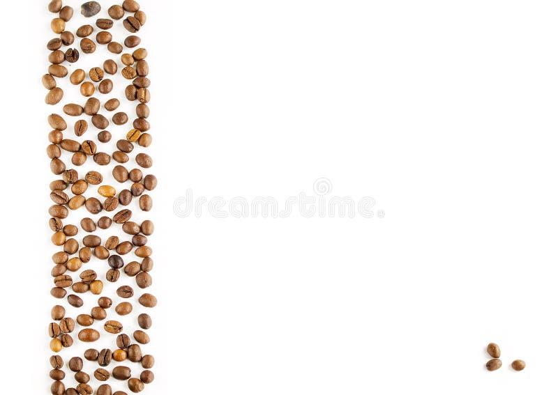 一杯咖啡豆 免版税库存照片